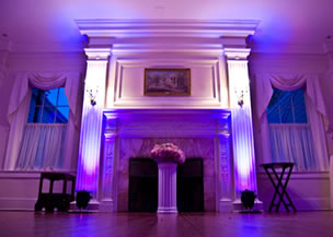 Mood lighting, LED uplighting for venues